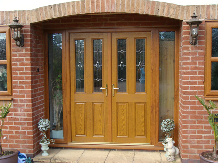 Front entrance doors milton keynes double glazing for Double glazed porch doors