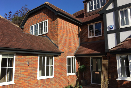Georgian double glazed windows & Origin bifolding doors, Beaconsfield, Buckinghamshire