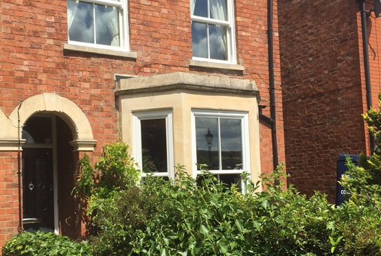 Double Glazed Sash Windows & Composite Front Door in Castlethorpe, Nr Milton Keynes, Buckinghamshire