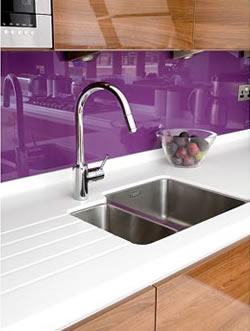 Glass splashbacks in Milton Keynes - Double Glazing Buckinghamshire